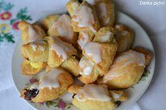 Rogaliki z trzech składników - Danka Pichci Potato Salad, Shrimp, Garlic, Potatoes, Dance, Cookies, Meat, Baking, Vegetables