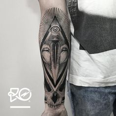 By RO. Róbert Pavez • Sweet Dagger - Part 2 half sleeve • #engraving #dotwork #etching #dot #linework #geometric #ro