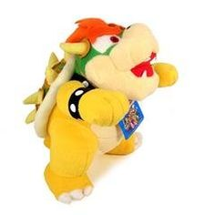 Super Mario Brothers Bowser Plush - 10 b. Super Mario And Luigi, Super Mario Brothers, Wii Accessories, Zombie Style, Plush Animals, Stuffed Animals, Stuffed Toy, Mario Party, Cool Items
