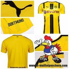Maillot Du FC Dortmund 2016 2017 18
