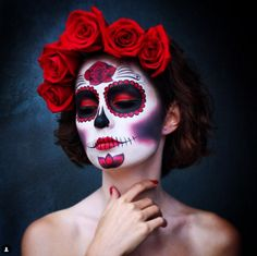 SUGAR SKULL MAKEUP: Sugar skull makeup is everywhere and we rounded up the best looks you need for ~inspiration~ here!