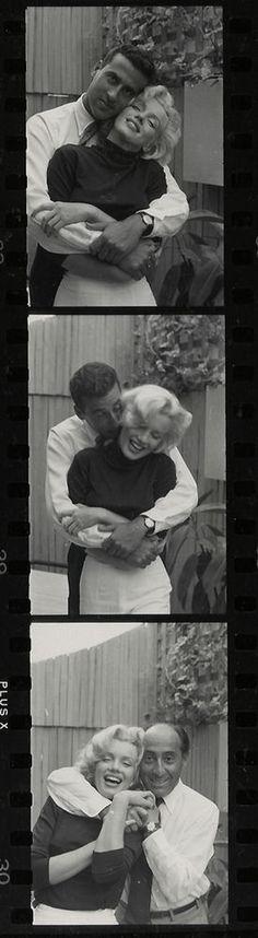 1953 Marilyn Monroe Photograph Life Magazine Alfred Eisenstaedt Contact Sheet | eBay