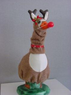 Goose Clothes and Goose Outfits, Cement and Concrete Lawn Geese - Lawn Goose Designs - (303) 797-7394