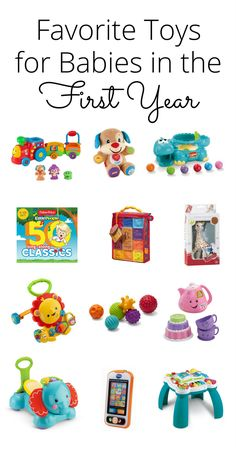 Check Out This List Of The Best Baby Toys These Gift Ideas Are Perfect For