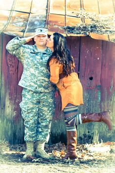 Bethany Veach Photography. Military couple. Military engagement. US Army.