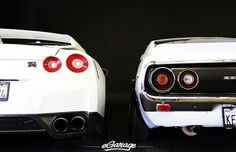 Nissan's New GT-R and Old School Skyline GT-R