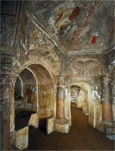 roman catacombs - Google Search