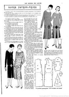 La Mode du jour. 1925/07/16