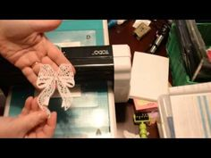 Using the TODO to cut Tattered Lace Dies - YouTube