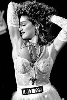 #Madonna Like A Virgin #Costume 5 pc set in White by darkponydesigns, $350 #halloween @etsy
