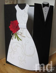 Stampin' Up! Wedding Card. Scrap paper