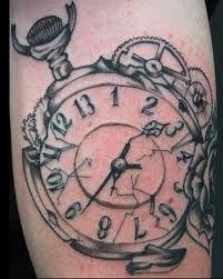 broken watch idea for tattoo – Watch for everyone Watch Tattoos, Time Tattoos, Tattoo You, Body Art Tattoos, Sleeve Tattoos, Tatoos, Fun Tattoo, Wrist Tattoo, Clock Tattoo Design