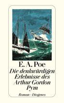 Edgar Allan Poe  |  Die denkwürdigen Erlebnisse des Arthur Gordon Pym  |  Roman, Taschenbuch, 224Seiten  http://www.diogenes.ch/leser/katalog/nach_autoren/a-z/p/9783257212679/buch