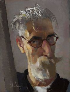 John Byrne -  Self Portrait. John Byrne is an artist born in Belfast, Northern Ireland, now living in Dublin. He went to art college in Belfast, then to the Slade School of Art in London in the mid-1980s. There he began to practice as a performance artist, gallery as well as theatre based, addressing identity and issues around the conflict in Northern Ireland