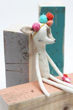 Deer Girl - Abigail Brown