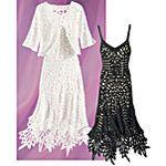 Battenburg Lace Dress  -pyramid collection
