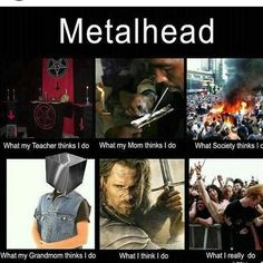 metalhead memes - Google Search