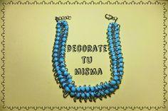 .Decorate tu misma.: Videotutorial de collar con abalorios, cadena y co...