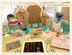 Memory Keepers ~ Origami Owl Living Lockets ~ Bren Yule: Bren's Origami Owl Jewelry Bar...Party up!