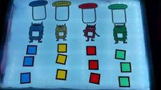 """Hola chic@s. Hoy os muestro una serie de actividades a realizar después de leer el cuento """" El monstruo de colores """". A parte de trabajar..."""