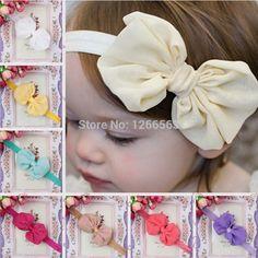 Bonito crianças meninas headband da criança infantil Headbands Bowknot arcos acessórios de cabelo, Acessorios para cabelo(China (Mainland))