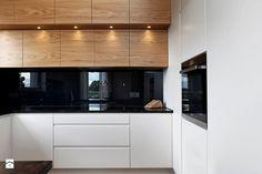 Nowoczesne mieszkanie w Gdyni - Średnia otwarta kuchnia w kształcie litery u, styl nowoczesny - zdjęcie od Flow Franiak&Caturowa