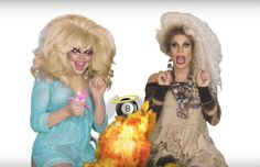 RuPaul's Drag Race stars Trixie Mattel and Katya Zamolodchikova are getting their own show. Drag Race stars Trixie Mattel and Katya will star in new television show The breakout stars of season seven bring their charisma, uniqueness, nerve and talent to every episode of their YouTube series entitled UNHhhh. And now it's paid off with Viceland a…