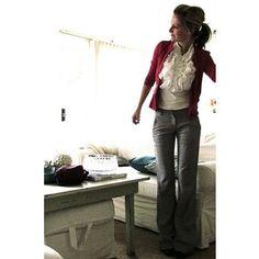 slacks and blouse