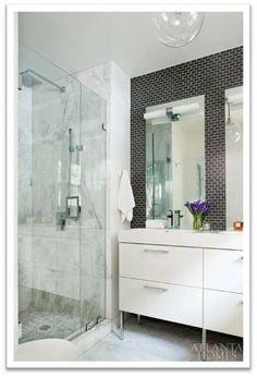 Stylish Spaces Designed For Living: Modern Basement Bathroom Renovation