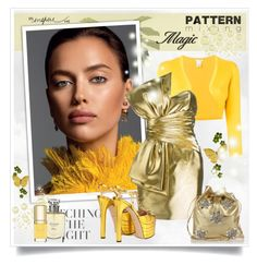 """""""Pattern mixing"""" by sneky ❤ liked on Polyvore featuring Oscar de la Renta, Yves Saint Laurent, Gucci, Miu Miu, Christian Dior, Dolce&Gabbana and patternmixing"""