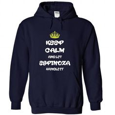 Keep calm and let Espinoza handle it T Shirt and Hoodie - #cute shirt #simply southern tee. OBTAIN LOWEST PRICE => https://www.sunfrog.com/Names/Keep-calm-and-let-Espinoza-handle-it-T-Shirt-and-Hoodie-1464-NavyBlue-26556548-Hoodie.html?68278