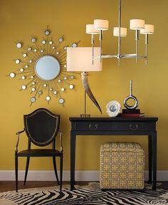 Black & yellow #design #decor #interiordesign #interiordecor