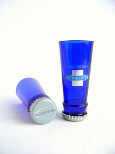 Bud Light Platinum Beer Bottle Shot Glasses