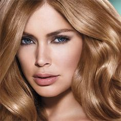 Beauty: Doutzen Kroes for L'Oreal 2013 Promo Stylish Haircuts, Modern Hairstyles, Curled Hairstyles, Long Hair Cuts, Long Hair Styles, Bright Blonde, Doutzen Kroes, L'oréal Paris, Crazy Hair