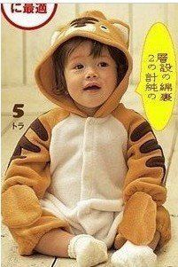 brown tiger style baby clothes+ wholesale and retail+free shipping 3pcs/lots