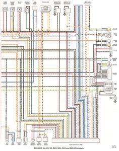 FAQ: Colored wiring diagram > all sv650 models  Suzuki