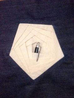 Origami pockets (creative pattern cutting) on Behance - Joanna Michalska, via Origami fashion
