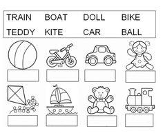 Vocabulary of toys – Interactive worksheet - Modern English Worksheets Pdf, Free Printable Alphabet Worksheets, English Worksheets For Kindergarten, Vocabulary Worksheets, Kindergarten Worksheets, English Vocabulary, English Activities For Kids, English Lessons For Kids, Kids English