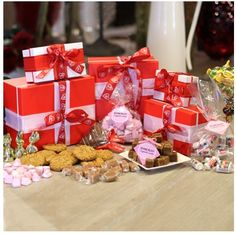 Tower of Treats, Busy At Work, Hampers, Tower, Gift Wrapping, Tasty, Treats, Business, Food, Gift Wrapping Paper