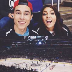 #kiandrea even though they broke up I LOVEEEEE themmmmm! They are amazing people. They will still be my favorite YouTube couple. (: