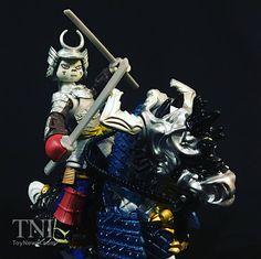 TMNT Samurai Usagi Yojimbo With Warrior Horse Video Review & Image Gallery