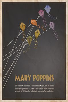 Classic movie print: Mary Poppins