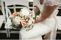 This is a gorgeous bridal bouquet - McKenzie Powell