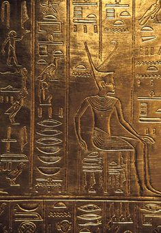 """Wall Mural """"hieroglyphic, symbol, hieroglyph - egyptian hieroglyphics"""" ✓ Easy Installation ✓ 365 Days Money Back Guarantee ✓ Browse other patterns from this collection! Ancient Egypt Art, Ancient Aliens, Ancient Artifacts, Ancient History, Egyptian Isis, Egyptian Art, Ancient Egyptian Architecture, Ancient Civilizations, Archaeology"""