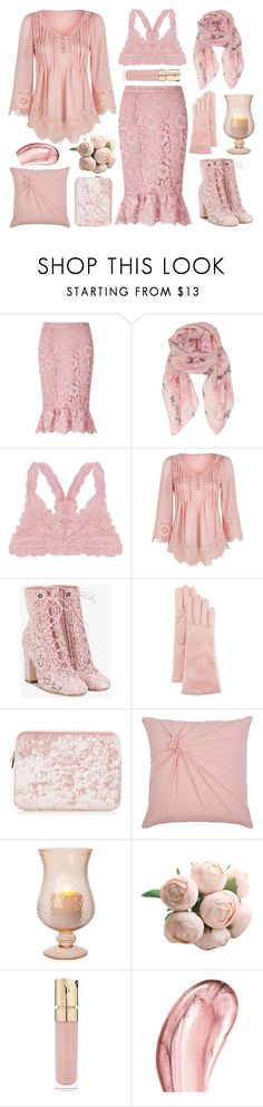 """At Least I Know What Makes Me Happy"" by yournightnurse ❤ liked on Polyvore featuring Miss Selfridge, Humble Chic, WithChic, Laurence Dacade, Portolano, Rizzy Home, Smith & Cult and Chantecaille"