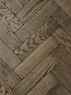 Vintage Oak Dark Herringbone Wood Floor from TileStyle
