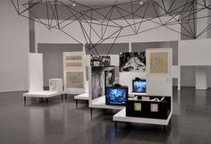 """Oskar Hansen. Open Form"" exhibition design, MACBA 11.07.14-6.01.15"