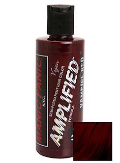 <p>Semi-permanent hair color that lasts 30% longer! This jar features vampire red dye. 4 fl. oz.</p>  <ul> <li>Semi-permanent; lasts 6-12 washes</li> <li>Made with herbal/plant extracts</li> <li>Not tested on animals</li> <li>Made in USA</li> </ul>