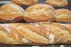Knusper Krustis – Baguette und Brot mit easy-über-Nacht-Vorteig
