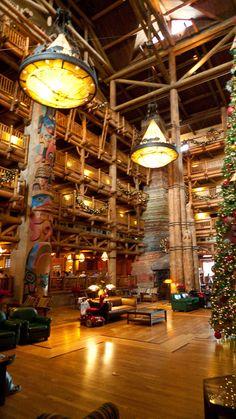 Lobby - Wilderness Lodge Walt Disney World